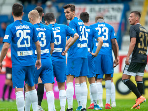 Slovan góly Peška a Mary porazil Baník a poskočil na čtvrtou příčku tabulky