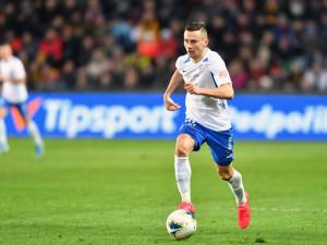 Už to koušu hodně těžce, ale chceme trofej, hlásil po utkání s Baníkem střelec gólu Jakub Pešek