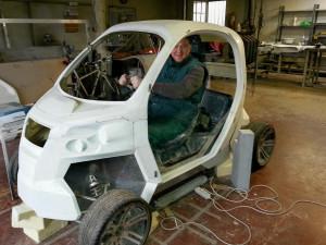 Nový elektromobil Fido vzniká v Liberci. Cílí na mladé řidiče a rozvážkové firmy