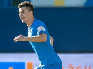 O tom jsem ani nesnil, řekl po ligové premiéře a gólu mladý útočník Slovanu Králíček
