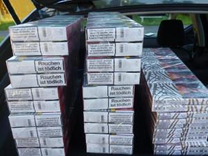 Lidé vozí nezdaněné cigarety a tabák z Polska ve velkém. Jen o prodlouženém víkendu to byly čtyři případy