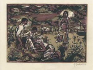 Malířka Marija Nekolová žije v Žibřidicích. Její jméno dlouho nikdo neznal