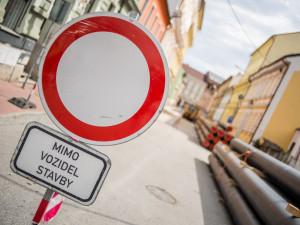 Ve Frýdlantu odstartovala tříletá rekonstrukce Kodešovy ulice. Vyžádá si i dopravní omezení