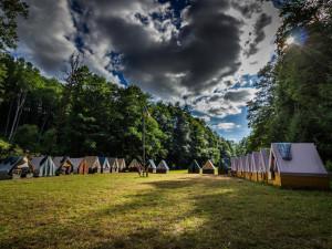 Hygienici kontrolují tábory. Letošní sezóna je zatím klidná a bez závad