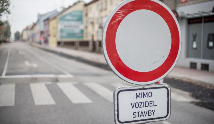 Rekonstrukce silnice v Dobranově si vyžádá dvě úplné uzavírky