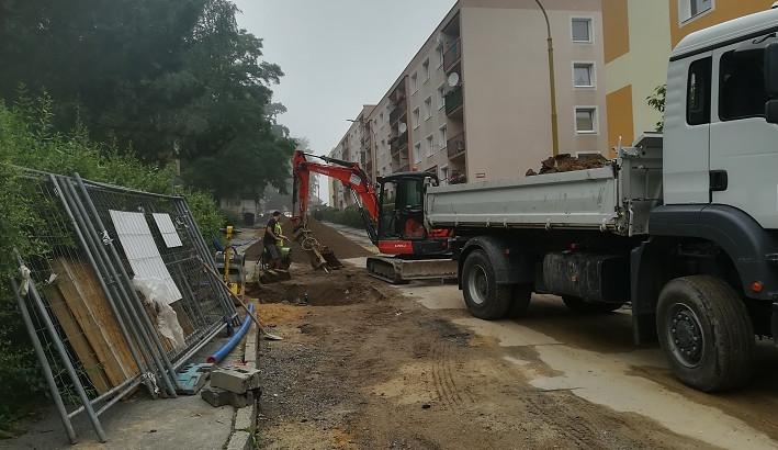 Práce a omezení v Novém Boru se přesunou z Jiráskovy ulice do Vančurovy