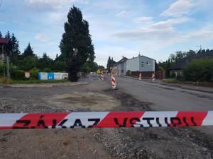 V sobotu se uzavře úsek mezi Přepeřemi a sídlištěm, dojde na pokládku finálních povrchů