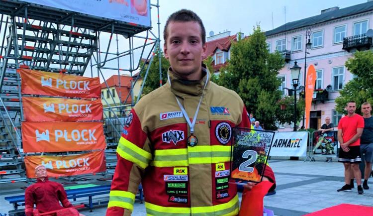 Liberecký hasič Honza Pipiš získal v Polsku další medaili