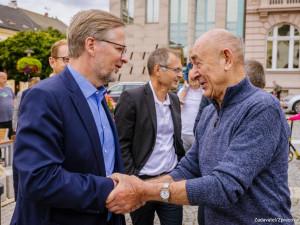 Těžbu v Turówě měl stát řešit mnohem dříve, řekl předseda ODS Petr Fiala při návštěvě Libereckého kraje