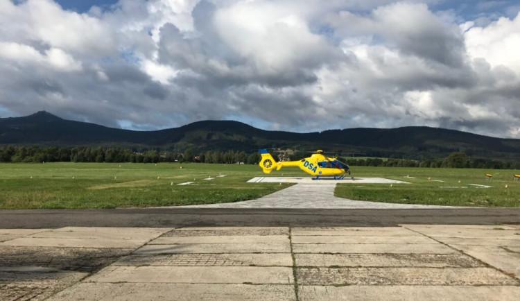 Záchranka má v Liberci nový heliport, vrtulníky mohou přistávat i po setmění