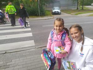 """Bezpečně u škol se """"Zebrou"""" v Libereckém krajï"""