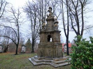 Barokní kaple v zahradě kostela Nalezení sv. Kříže projde nákladnou rekonstrukcí