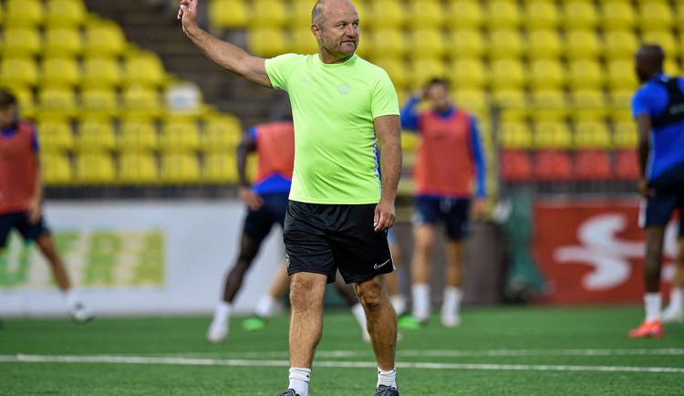 Hodně to ovlivnil vítr, teď přepneme na ligu, řekl po postupu v Evropské lize trenér Slovanu Hoftych