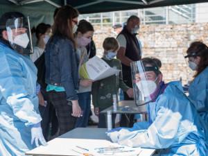 Nárůst počtu případů covidu v Libereckém kraji byl trojnásobný