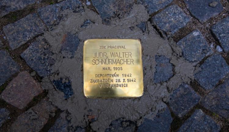 Kameny zmizelých se objeví i v Turnově, první budou položeny příští rok