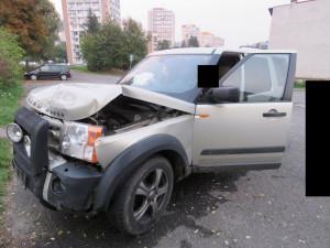 V opilosti se nevěnoval řízení a naboural zezadu do auta. Škoda se vyšplhala na 160 tisíc korun