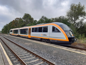 Die Länderbahn modernizuje flotilu vlaků. Nově nabízí wifi nebo velkorozměrovou mapu na toaletě