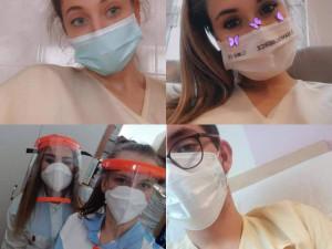 Liberecká zdrávka pomáhá, jak může. Desítky studentů dobrovolně vyrazily do nemocnic