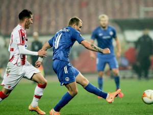 Slovan zápas v Bělehradě nezvládl, Crvené zvezdě podlehl 1:5