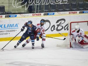 Po restartu vítězství. Tygři porazili neoblíbenou Olomouc 2:1, rozhodla kuriózní branka Bulíře