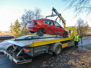 Z Liberce začnou postupně mizet autovraky