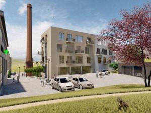 Moderní centrum, zdravotní středisko i nové byty. Hrádek zveřejnil vizualizaci Benaru