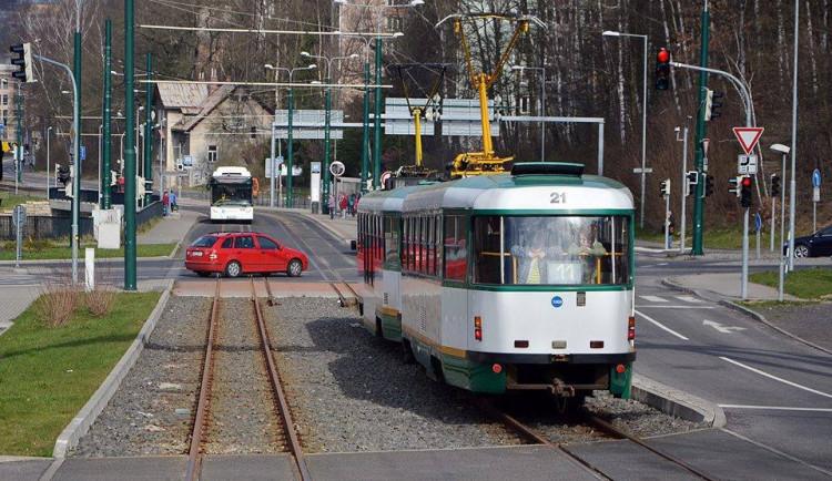 Tramvaj mezi Libercem a Jabloncem bude jezdit podle prázdninového jízdního řádu