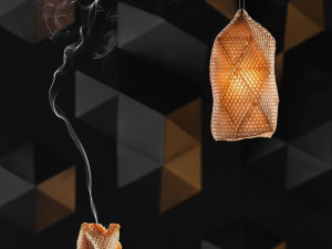 Svítidla, která vyrobily včely. Za světovým unikátem stojí Eduard Seibert