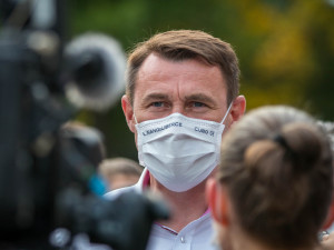 Liberecký hejtman Půta kritizuje nerovnoměrné rozdělování vakcín. Nemáme ani tři procenta, vadí mu