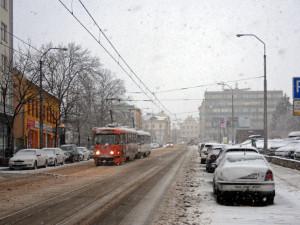 Liberecký kraj odpoledne zasáhne silné sněžení. Pak přijde obleva