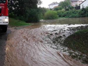 V Libereckém kraji platí do zítřejšího dopoledne výstraha kvůli povodním