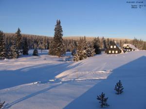 V Libereckém kraji silně mrzlo, na Jizerce až minus 30 stupňů