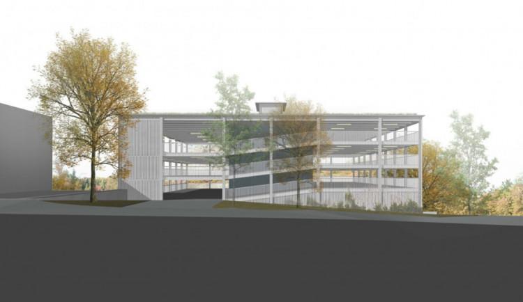 Projekt na výstavbu parkovacího domu se dal do pohybu. Završí ho zelená střecha
