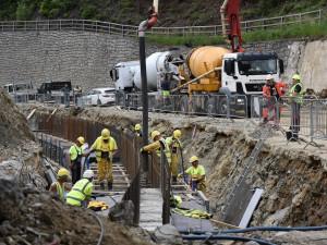 U Rádelského mlýna znovu začínají práce. Provoz bude omezen