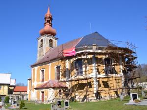 Obnova jindřichovického kostela byla zařazena do programu záchrany architektonického dědictví