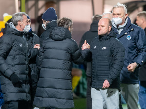 Slovanu pomohla střídání. Několik hráčů hrálo pod své možnosti, hodnotil trenér Hoftych