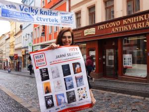 Startuje Velký knižní čtvrtek. Dvanáct knižních novinek jde koupit se slevou