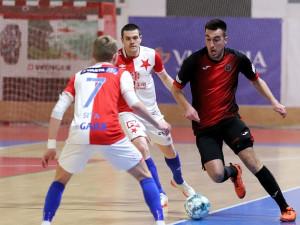 Futsalisté v dohrávce nestačili na Slavii. V tabulce zůstávají na šestém místě