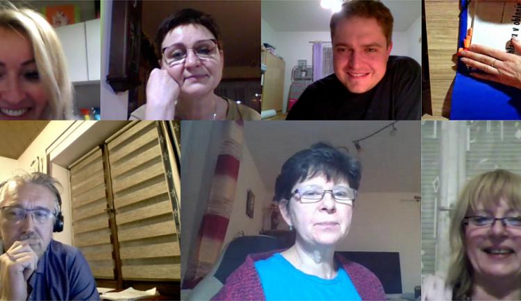 Divadelní spolek Vojan připravuje i v této době nové představení. Zkoušky probíhají online