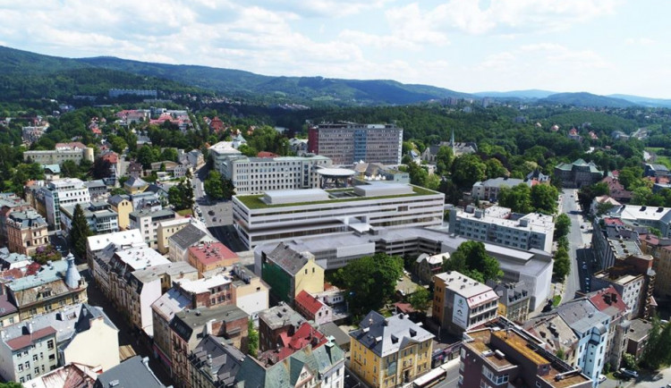Na nový pavilon nemocnice si kraj půjčí 1,3 miliardy korun. Splácet bude deset let