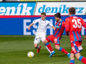 Po zbytečné chybě konec. Slovan v Plzni inkasoval v závěru a v poháru končí