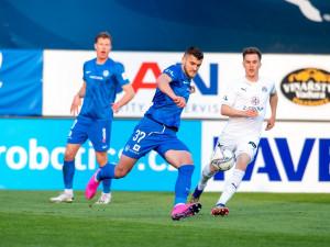 Souboj o poháry dopadl lépe pro Slovácko, Liberec padl gólem z penalty