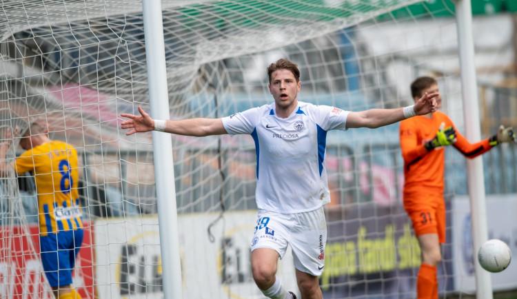 Slovan po čtyřech zápasech zabral. Z Opavy veze vítězství 2:0