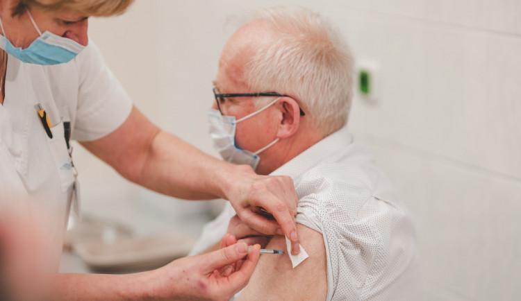 V Libereckém kraji je očkováno zhruba patnáct procent obyvatel