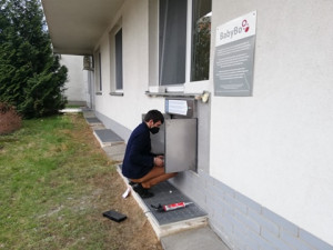 Jablonecká nemocnice má nový babybox za 300 tisíc, původní byl zastaralý