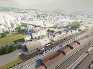 Kraj a Liberec chtějí na nádraží vybudovat přestupní dopravní terminál. Souhlas Správy železnic ale ještě nemají