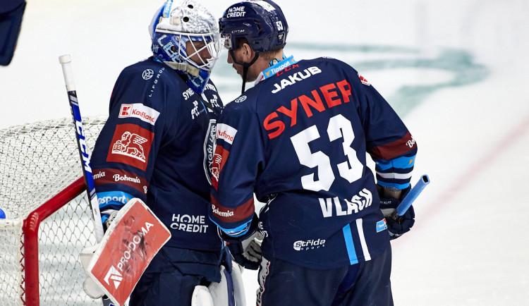Liberecký hokejista Vlach dostal pokutu za nafilmovaný pád