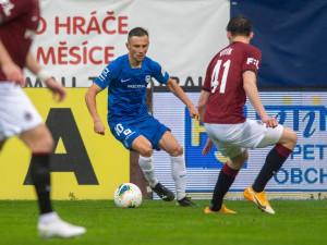 Bitva U Nisy skončila remízou. Dva góly Peška nestačily, Sparta vyrovnala během minuty