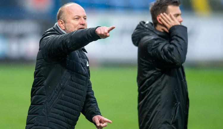 Obě mužstva šla za vítězstvím, ocenil trenér Slovanu Hoftych