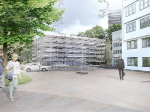 Liberecký kraj chce letos zahájit výstavbu parkovacího domu vedle svého sídla